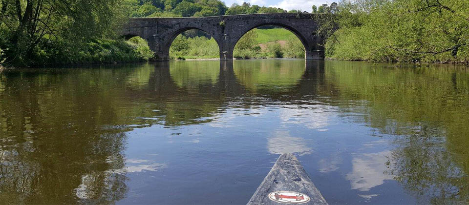 Canoe Hire: Canoe hire near Garth Cottage, Symonds Yat