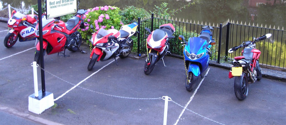 image showing Motorcycle touring in the Wye Valley and Forest of Dean