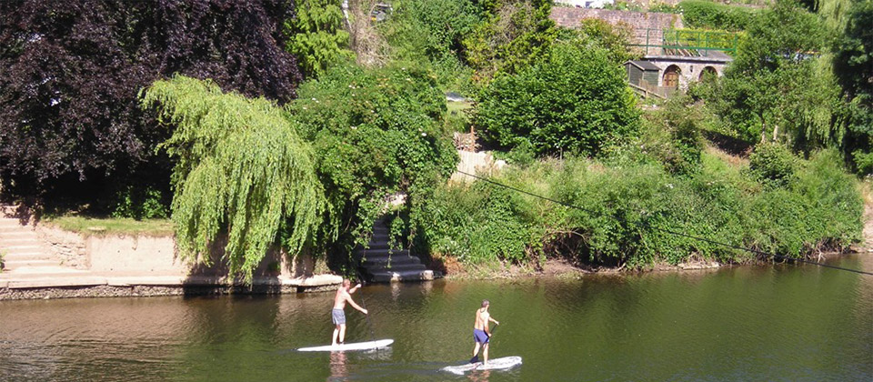 image showing Water sports in the Wye Valley