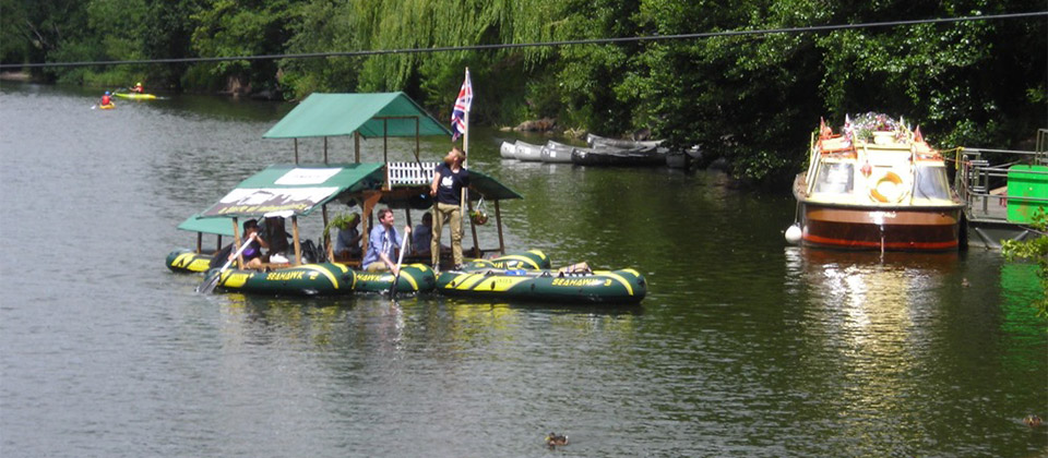image showing The Dinghy Boys paid us a visit...