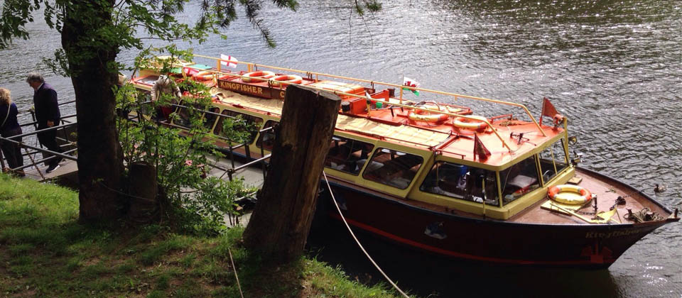 Wye Valley Cruises: Cruises on the River Wye | Garth Cottage, Symonds Yat